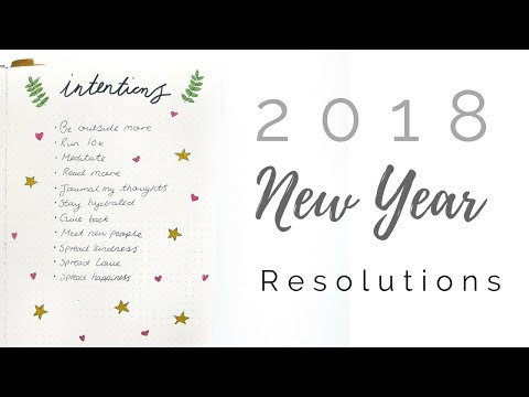 My 2018 New Year Resolution/Intentions | Minimalism, Zero Waste, Conscious Living