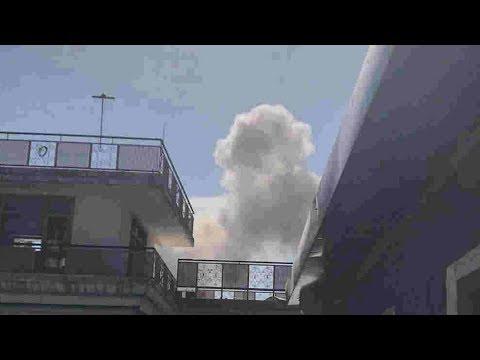 Afghan capital Kabul: Nine killed in huge explosion