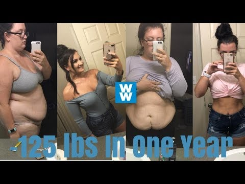 How I Lost 125 lbs In One Year On Weight Watchers