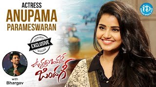 Actress Anupama Parameswaran Full Interview || Vunnadhi Okate Zindagi || Talking Movies With iDream