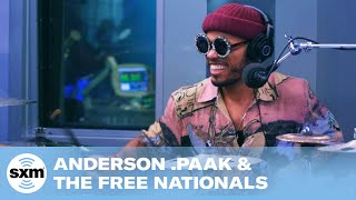 Anderson .Paak & The Free Nationals - Bubblin [Live @ SiriusXM]