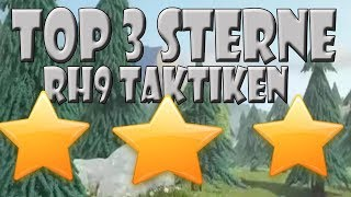 RH9 3 STERNE ANGRIFFSSTRATEGIEN SUPER TAKTIKEN | Let´s Play CoC/ Clash of Clans | Deutsch/ German