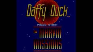 SNES Longplay [456] Daffy Duck: The Marvin Missions