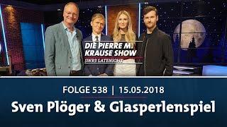 Die Pierre M. Krause Show vom 15.05.2018 mit Sven, Regina & Glasperlenspiel