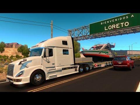 Volvo VNL 780 | De Loreto a Puerto San Carlos, Baja California, México