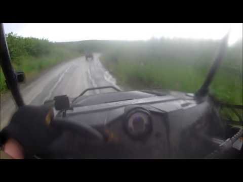 Petersville Road Alaska Fast, Wet