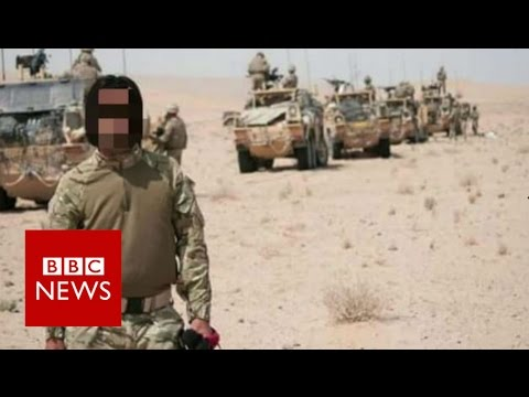 Afghan interpreters 'betrayed' by UK and US - BBC News