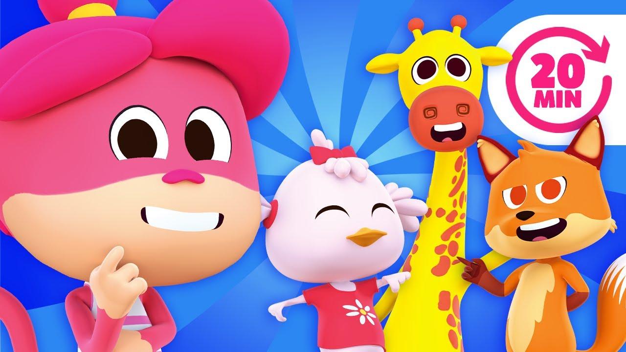 ¡El Baile de los Animales y Más Canciones Divertidas del Zoo! | El Reino Infantil
