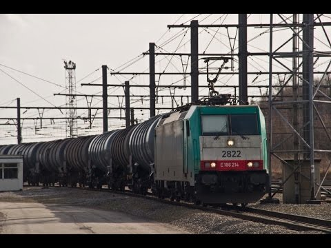 HD Freight Train Timelapse from Gent Zeehaven to Liege Kinkempois