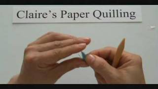 paper quilling - Marquise,teardrop,off-centered_0001.wmv