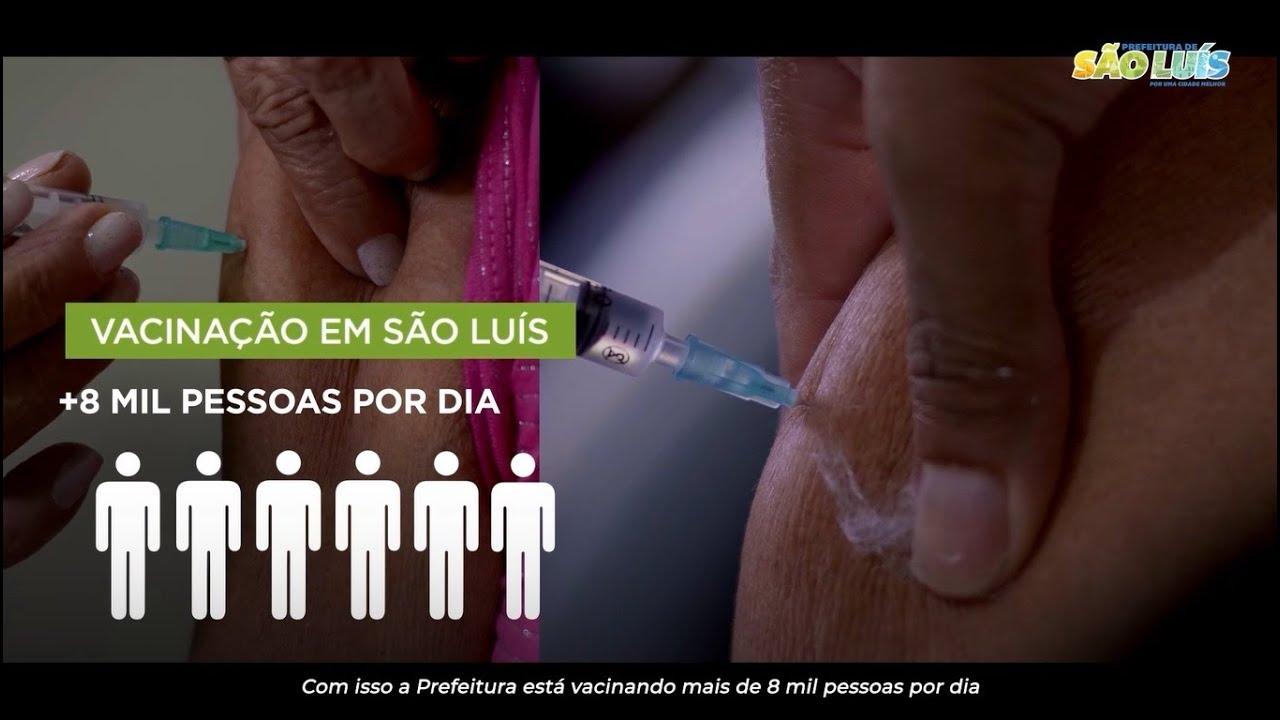 Vídeo: Prefeitura de São Luís - Vacinação sem parar 💉