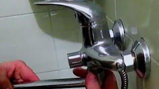 Ремонт душевого смесителя своими руками. Протекает излив (гусак). doRABOTKA