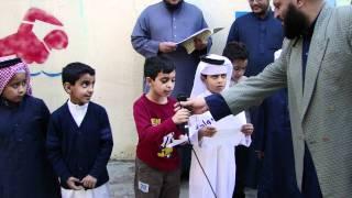 الإذاعة المدرسية بمدارس الرواد بخميس مشيط