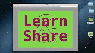 Make Transparent Image (JPG to PNG) Mac OS X