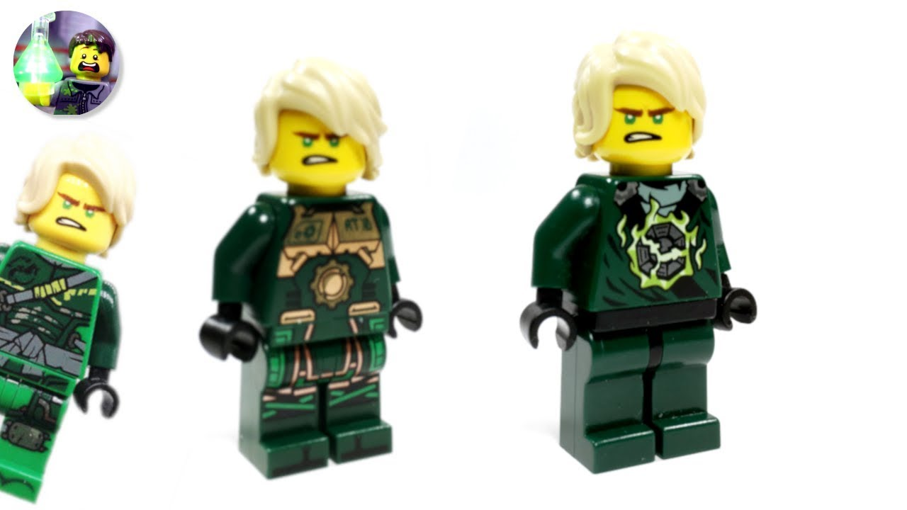 Lego Ninjago Custom Lloyd Minifigure From Hunted Youtube