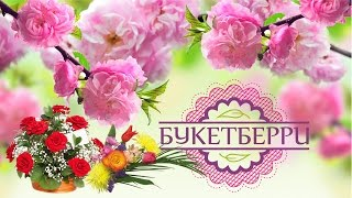 Buketberry ru  - цветы и отличное настроение!(, 2016-04-14T22:20:05.000Z)