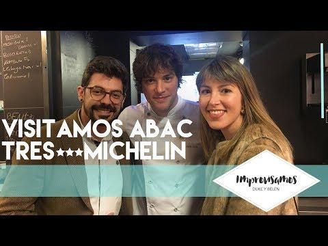 NUESTRA EXPERIENCIA CON JORDI CRUZ EN ABAC!!!3 ESTRELLAS MICHELIN!!
