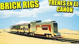 Actualización BRICK RIGS - TRENES y MAPA NUEVO!!! CANYON