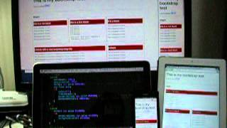 [Test] edit html page and change in multi-devices