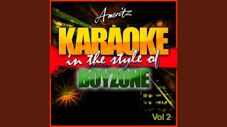 Isn't It a Wonder (In the Style of Boyzone) (Karaoke Version)