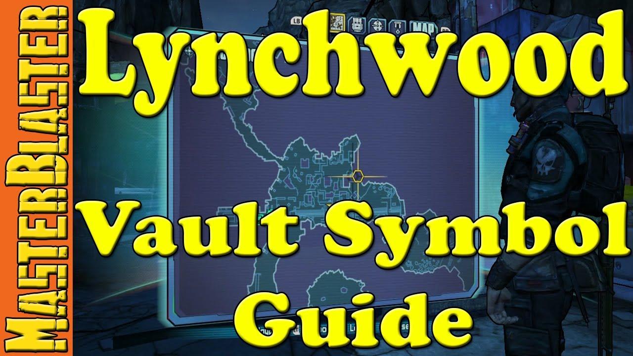 Borderlands 2 Lynchwood Cult Of The Vault Symbol Locations Youtube