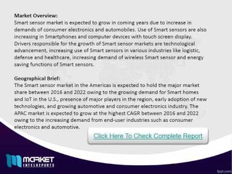 2016 Global Smart Sensor Market Research Report