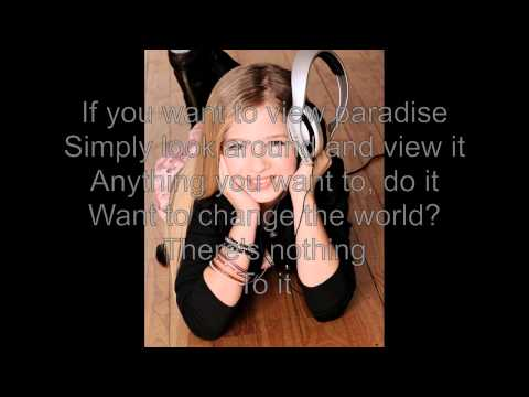 Jackie Evancho   pure imagination