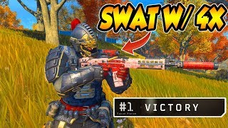 CoD BLACKOUT | THE SWAT WiTH A 4X iS iNSANE!!!! (15 KiLL WiN)