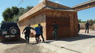 Operación contra el narcotráfico en Andalucía