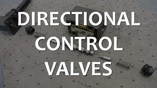 Directional Control Valves (Full Lecture)