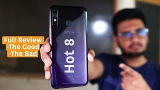 Infinix Hot 8 Review | Low Range King? Or Not !