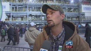 Newport News Shipbuilding employees react to Obama