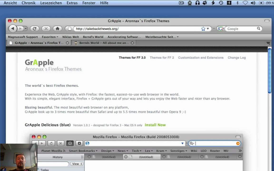 Google themes on safari - Firefox Themes Im Safari Look