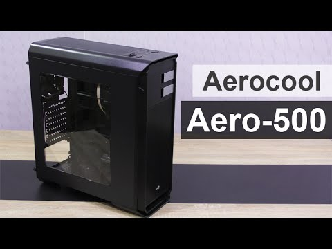 Aerocool Aero-500 Mid-Tower Case Review