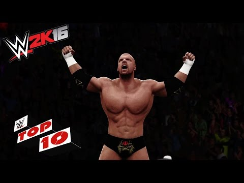 Ridiculous Top Rope Super Moves: WWE 2K16 Top 10