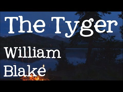 The Tyger by William Blake: Tiger, tiger burning bright - Classic Poems for Kids, FreeSchool