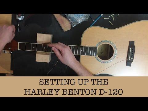 Setting up my cheap acoustic guitar - Harley Benton D-120NT