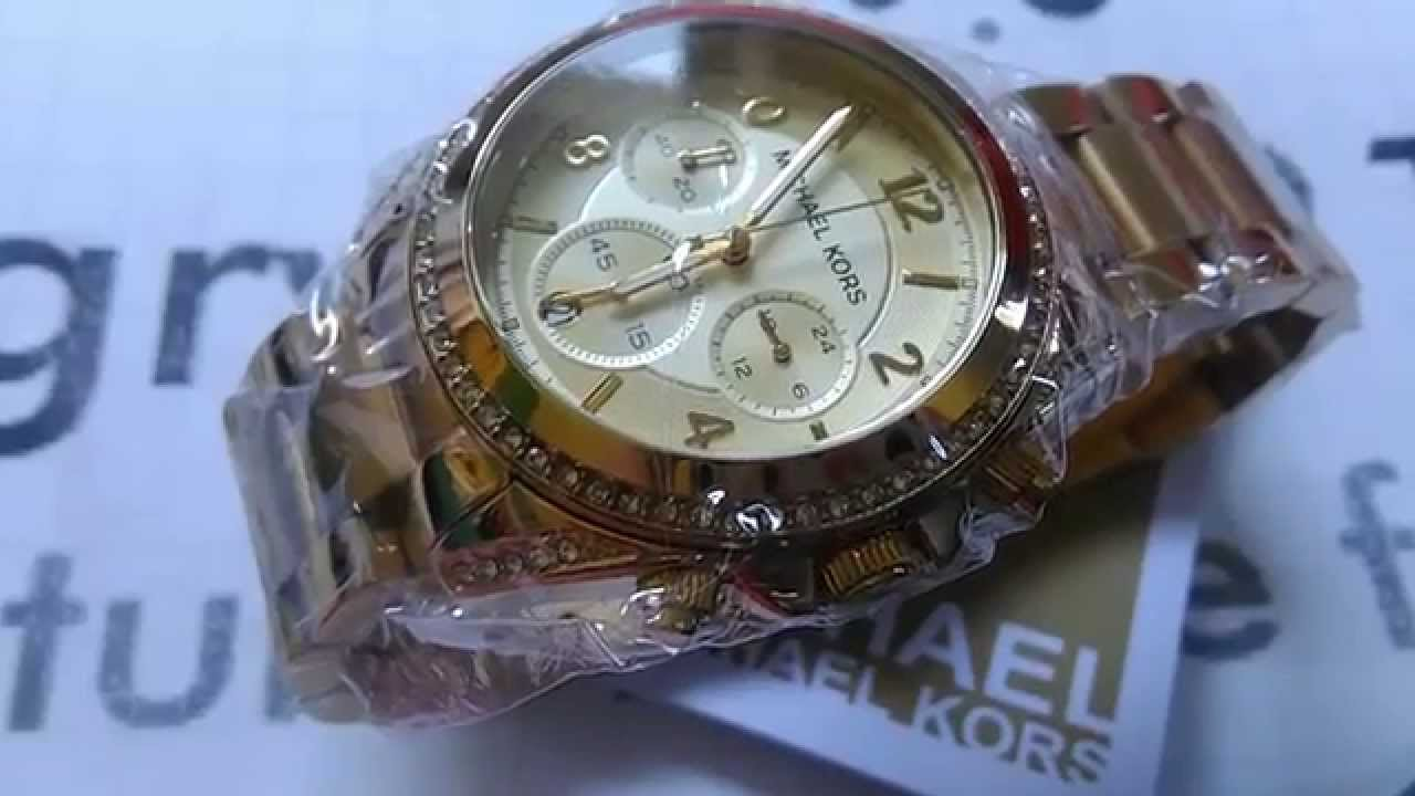 31476129b7996 Nowy oryginalny zegarek Michael Kors MK5166 + pełny oryginalny zestaw