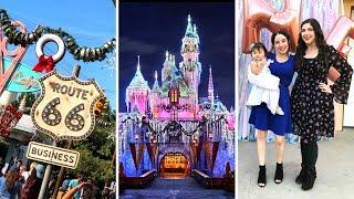 VLOG | Christmas Time at Disneyland/California Adventure + Mila's 1st Birthday thumbnail