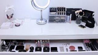 Коллекция косметики и мой туалетный столик / Makeup collection and storage