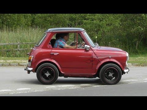 Mini's Leaving a Car Show 3,   June 2017