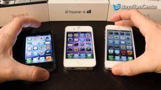 iPhone 4 vs iPhone 4S vs iPhone 5 - Is iPhone 5S worth it?
