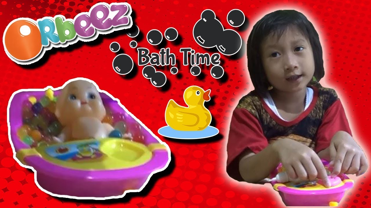 Boneka Bayi Mandi Orbeez Boneka Bebek Mainan Anak - Baby Doll With Duck  Orbeez Bath Time c90b2cfaed