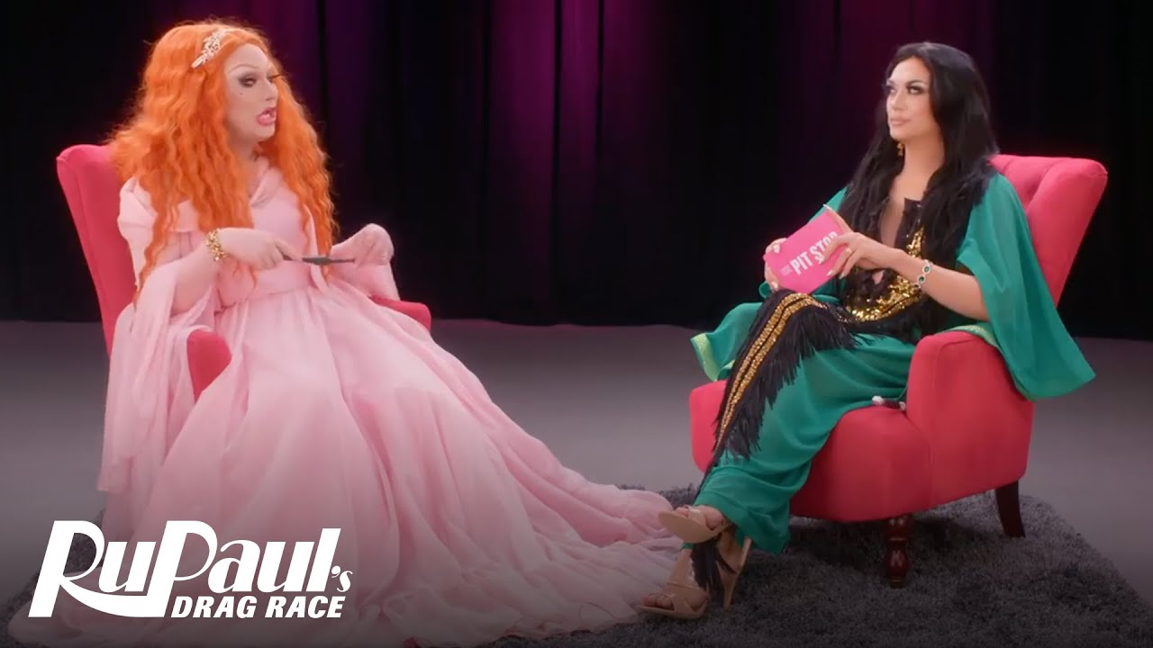 The Pit Stop S11 Episode 10: Jinkx Monsoon Talks Dragracadabra | RuPaul's Drag Race