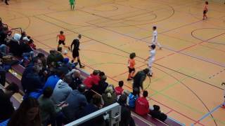 U12 Jhg2005 SV Darmstadt 98 - 1. FC Köln 1:3; FINALE Hallencup Rheinsüd Köln 14.01.17