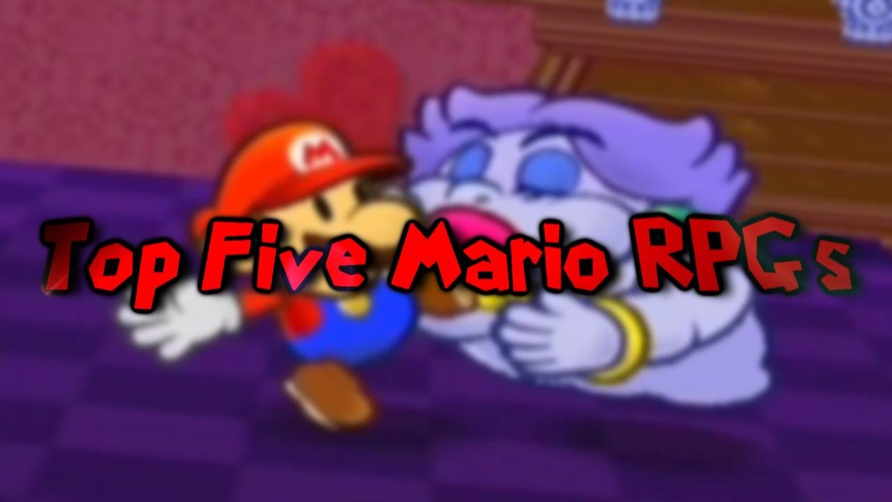 Top Five Mario RPGs