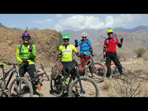 Gran Canaria MTB Singletrail Tour NO SHERPA with free motion