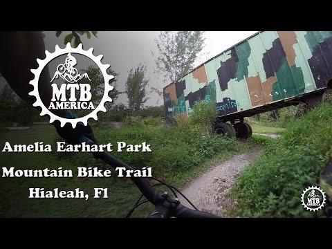 "Amelia Earhart Park Mountain Bike Trail ""Complete"" - Mountain Biking in Florida - MTB America"