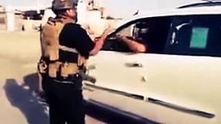ضابط في الجيش العراقي يستهزئ بعناصر الصحوات
