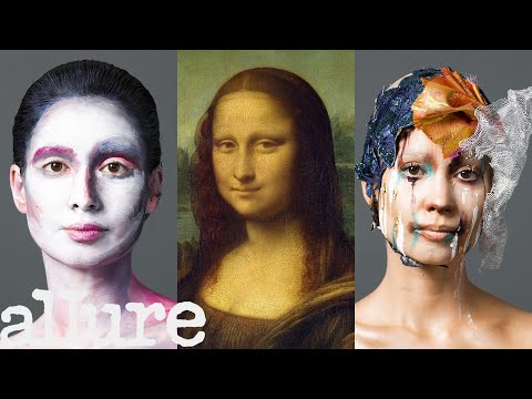 3 Makeup Artists Turn a Model Into The Mona Lisa | Triple Take | Allure